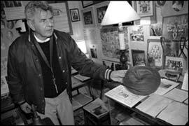 Curator Bill Pollack