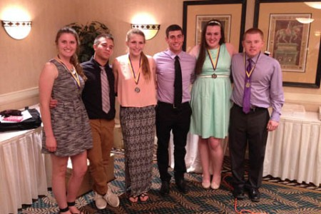 Athletes Attend Chamber of Commerce Dinner