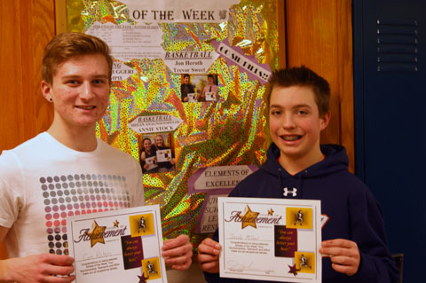 Athlete of the Week – Boys Swimming