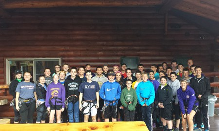 Student Council Visits Adirondack Extreme