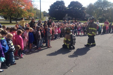 Fire Safety & Prevention Taught at Pleasant Ave.