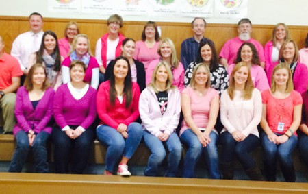 Pleasant Avenue Staff are Positively Pink