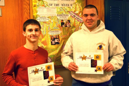 Athlete of the Week – Wrestling