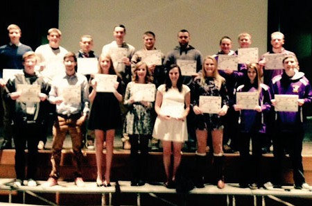 Foothills Honors – All Stars Winter 2014-15