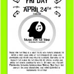 Music for the Mind Benefit Concert April 24