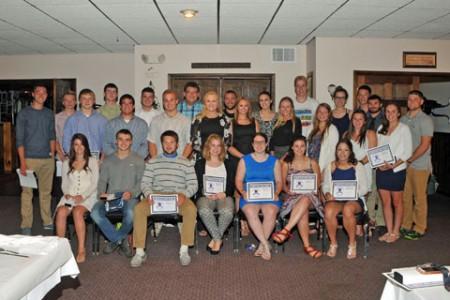 Senior Athletes Recognized at Banquet