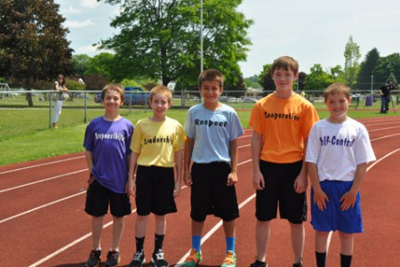 Elementary Track Meet a Winning Day