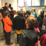 To Protect & Serve: Third Graders Visit with Johnstown Police Dept.