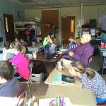 Visitor Takes 6th Grade on Virtual Field Trip
