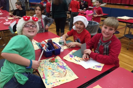 Top AR Classes Earn Craft & Cookie Party