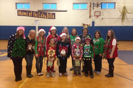 Fourth Grade Hosts Ugly Sweaters Contest