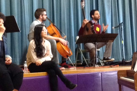 The Bridge Arts Ensemble Visits Glebe