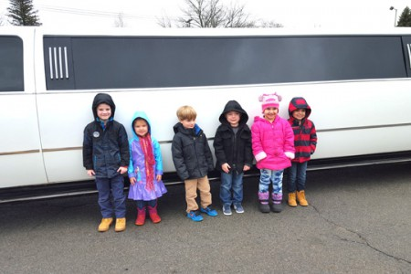 Limo Ride & Pizza Lunch for Top Six Sellers
