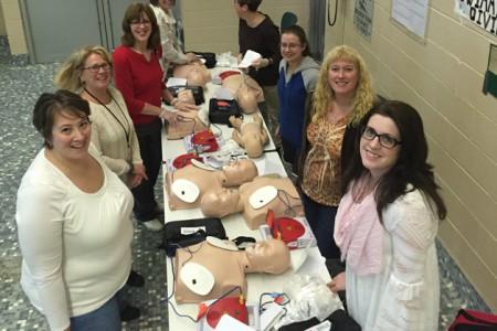 Johnstown Nursing Staff Keep Up to Date