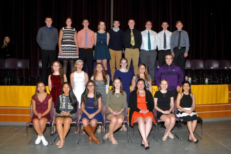 JHS National Honor Society Inducts 22