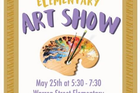 Elementary Art Show May 25