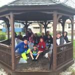 Warren Student Council Rail Trail Cleanup