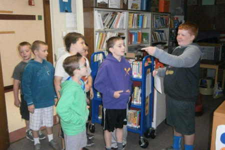 Third Graders Visit Warren Street