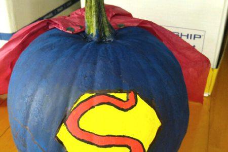 It's a Bird, it's a Plane, it's a… Pumpkin?!