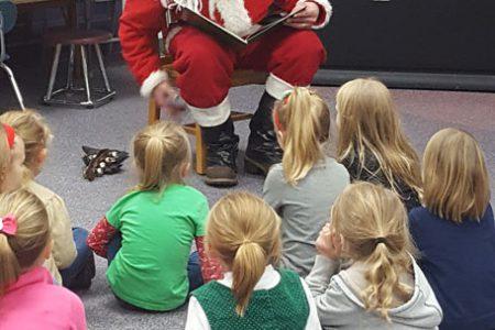 Students Enjoy Literacy Night with Santa