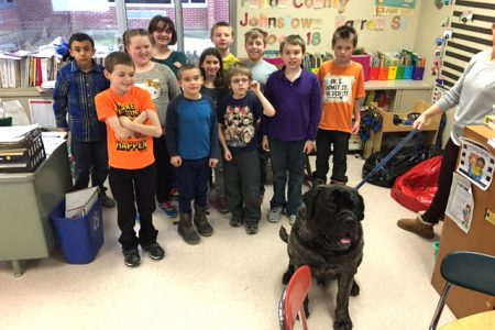 Mrs. Paul's Students Creating Book on Dogs