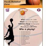 Johnstown v Gloversville Faculty Basketball