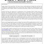 Glebe Street March Newsletter