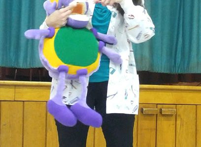 Pleasant Students Learn About Dental Health
