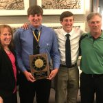 Wager Receives Athlete of the Year Honor