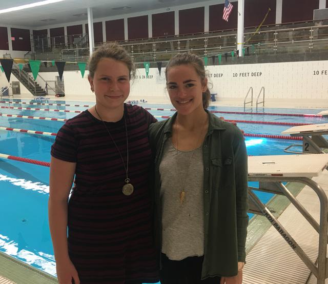 Athletes of the Week: Girls Swimming