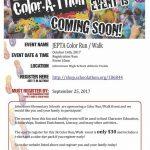 JEPTA Color Run / Walk Oct. 14