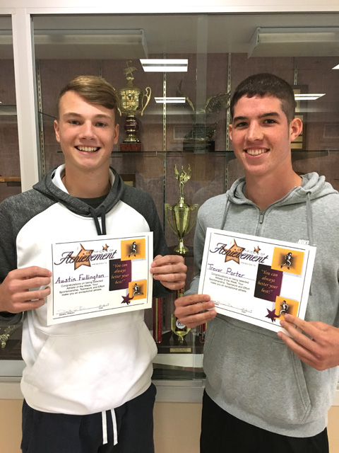 Athletes of the Week: Football