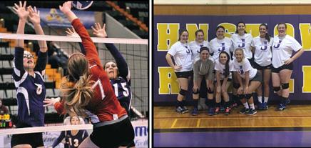 Alumni Volleyball Game Friday, Dec. 22