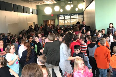 New Glebe Cafeteria Grand Opening