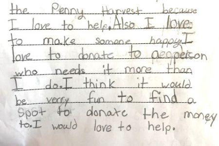Penny Harvest Raises Money for Charity