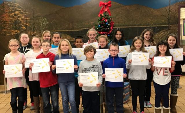 Warren Students of the Month Nov. 2017