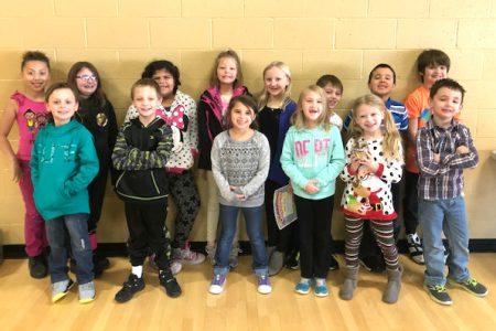 Students Recognized at Dec. Morning Program