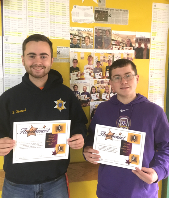 Athletes of the Week – Bowling