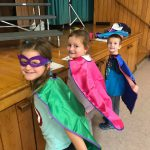 Three Pleasant Super Readers Earn Capes