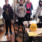 students at the school museum
