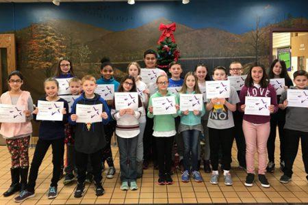 Warren Students of the Month Dec. 2017