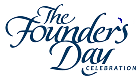 "words ""The Founder's Day Dinner"" in script"