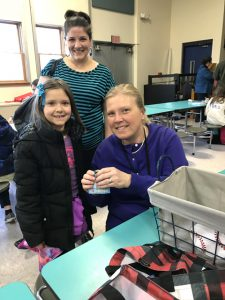 student with Principal Cotter