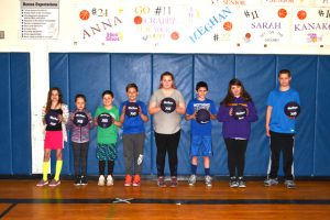 winners with basketballs