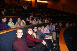 Students Attending the awards ceremony