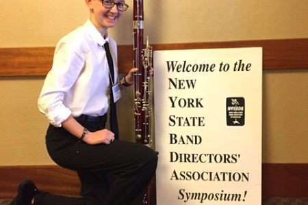 Knox Bassoonist Part of NYS Honor Band