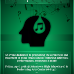 4th Annual Music for the Mind April 27
