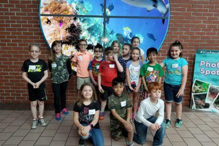 Second Grade Trip to Aquarium