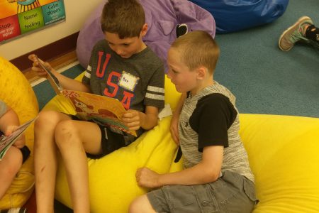 Peer Reading Fun at Glebe