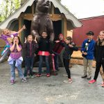 Rain Doesn't Dampen Smiles on Trip to Animal Land